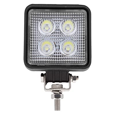 Maxxima Mini Square 4 LED Work Light 750 Lumens 12/24VDC: Automotive
