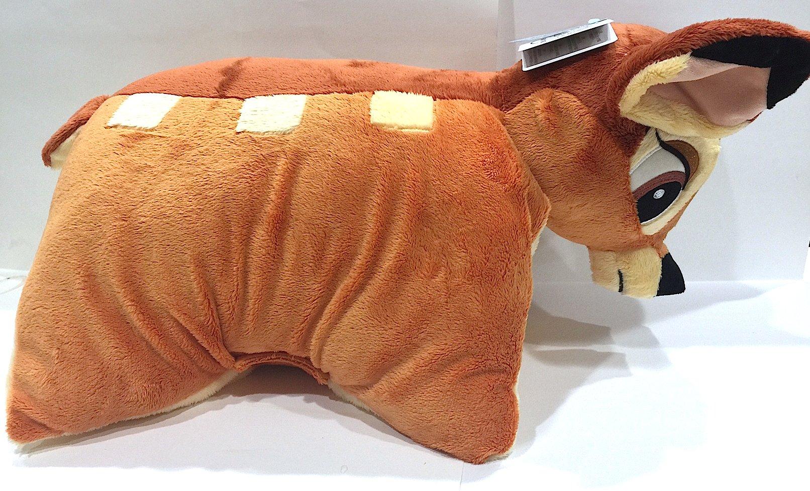 Disney Parks Bambi Pillow Pal Plush Pet Doll NEW