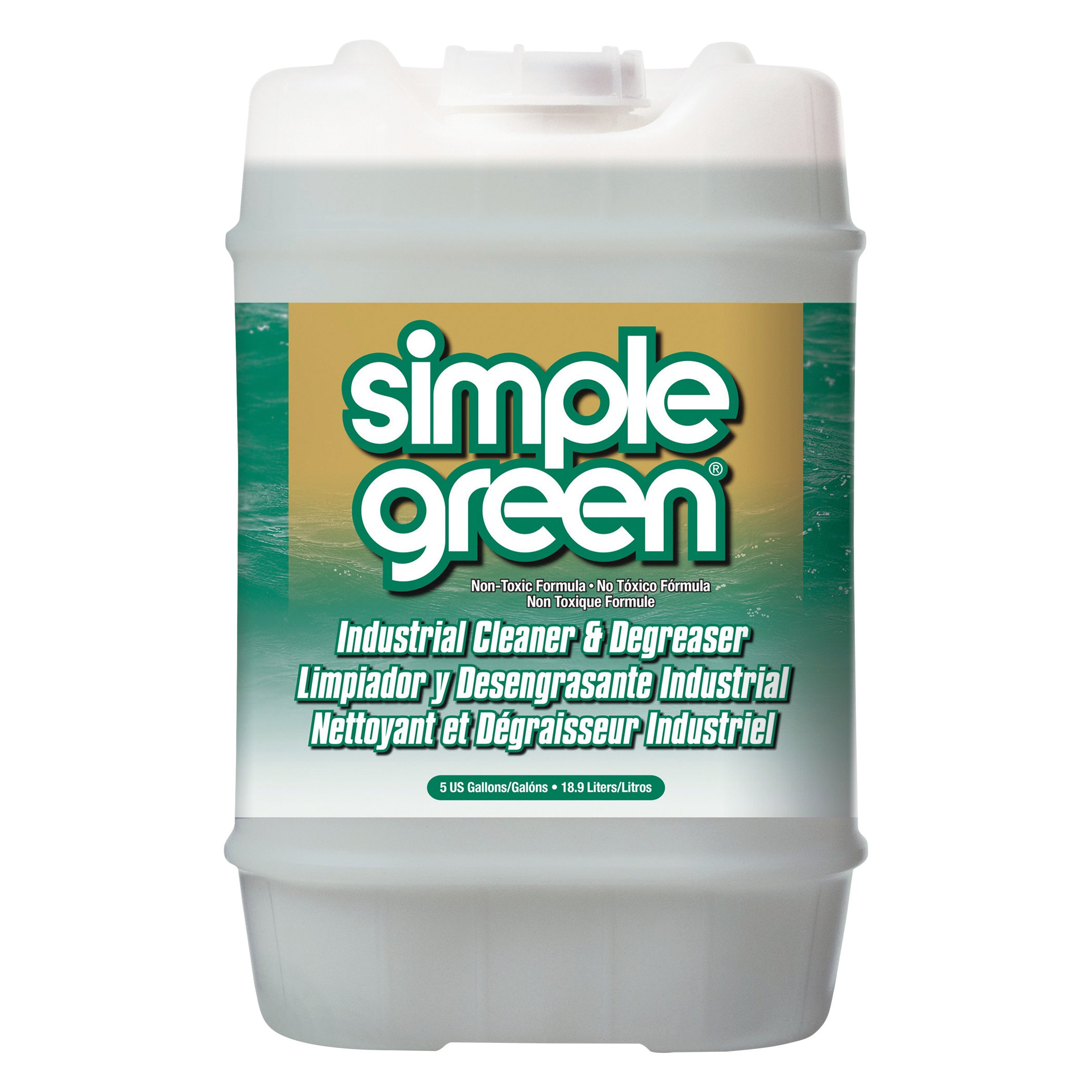 Simple Green 13006 Industrial Cleaner & Degreaser, Concentrated, 5 gal, Pail by Simple Green