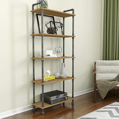 Barnyard Designs Furniture 5-Tier Etagere Bookcase