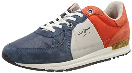 ff2adc35582 Pepe Jeans Men s Tinker Pro Camp Summer Trainers  Amazon.co.uk ...