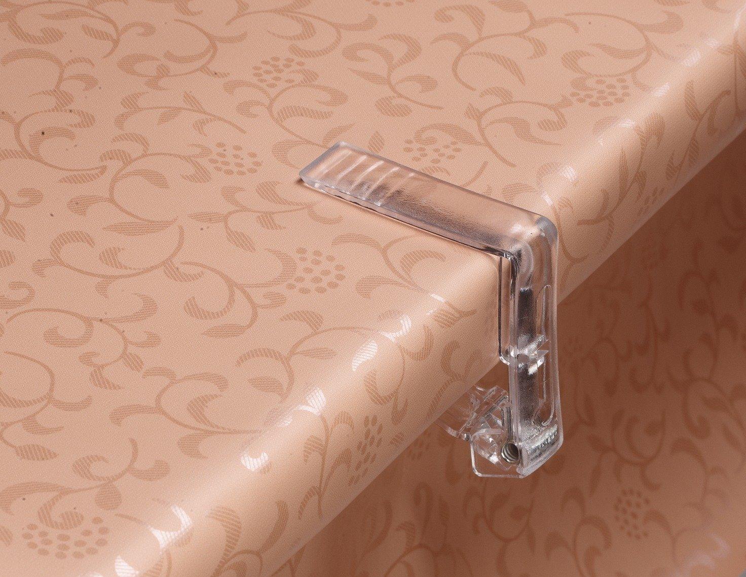 d-c-fix® Table Cloth Clear Clip (4 in pack) Konrad Hornschuch AG
