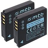 2x Batteries CGA-S005 pour Panasonic Lumix DMC-FX10, FX50, FX100, FX150 / Leica / Fuji...