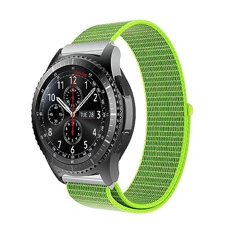 TopTen - Correa de repuesto para reloj Samsung Gear S3, nailon ...