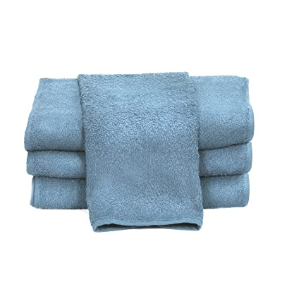 """Towels by Doctor Joe D-15253-BI-10DZ China Soaker Sky Blue 15"""" x 25"""" Super Absorbent Car Wash and Detailing Towel, (Pack of 120): Automotive"""