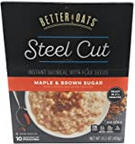 Better Oats Steel Cut Maple Brown Sugar 15.1 Ounce (2 Pack)