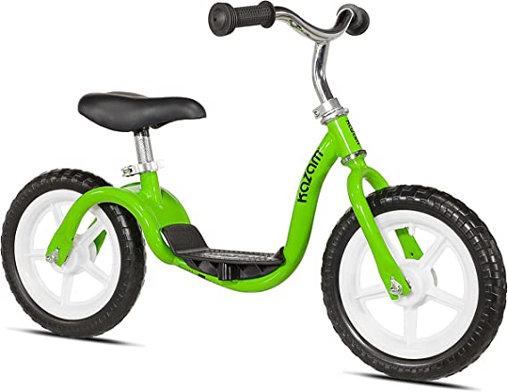 Kazam V2e No Pedal Balance Bike 12 Inch Green Sports Outdoors
