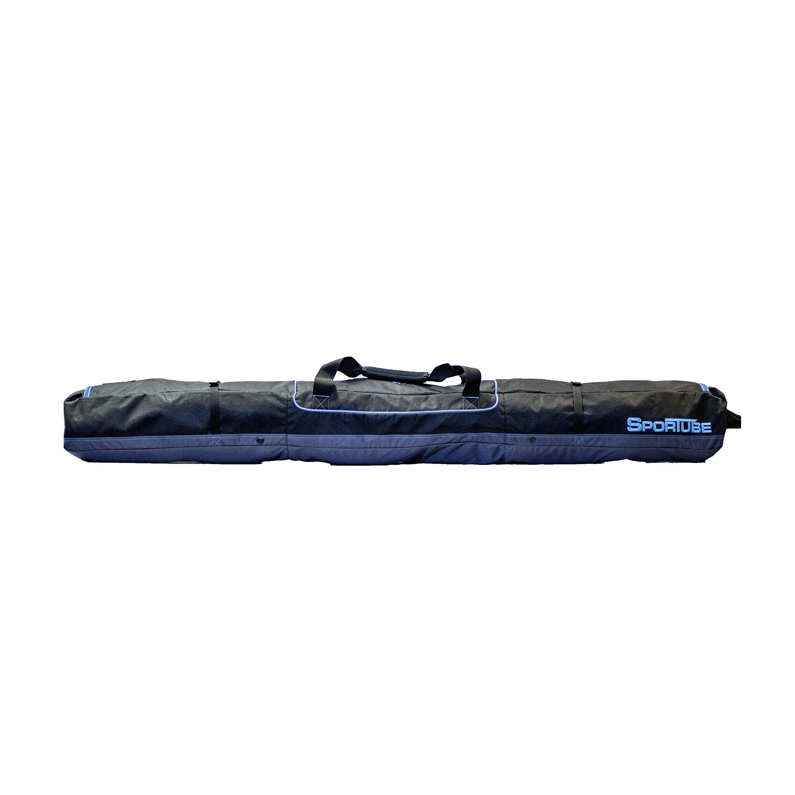 Sportube Traveler Single Ski Bag Blue/Black by Sportube