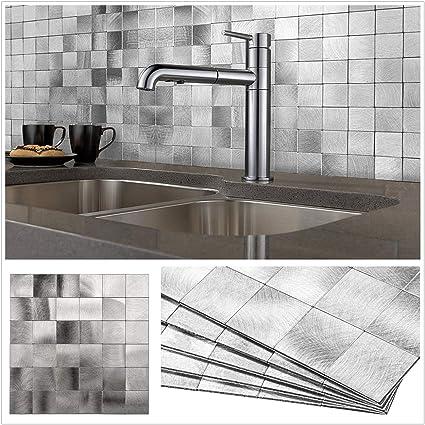 Amazon.com: HomeyStyle Peel and Stick Tile Backsplash for ...