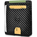 GenTo® FLAPLET I Magic Wallet - Protección certificada de RFID y NFC - Billetera Inteligente, Delgada y sin…