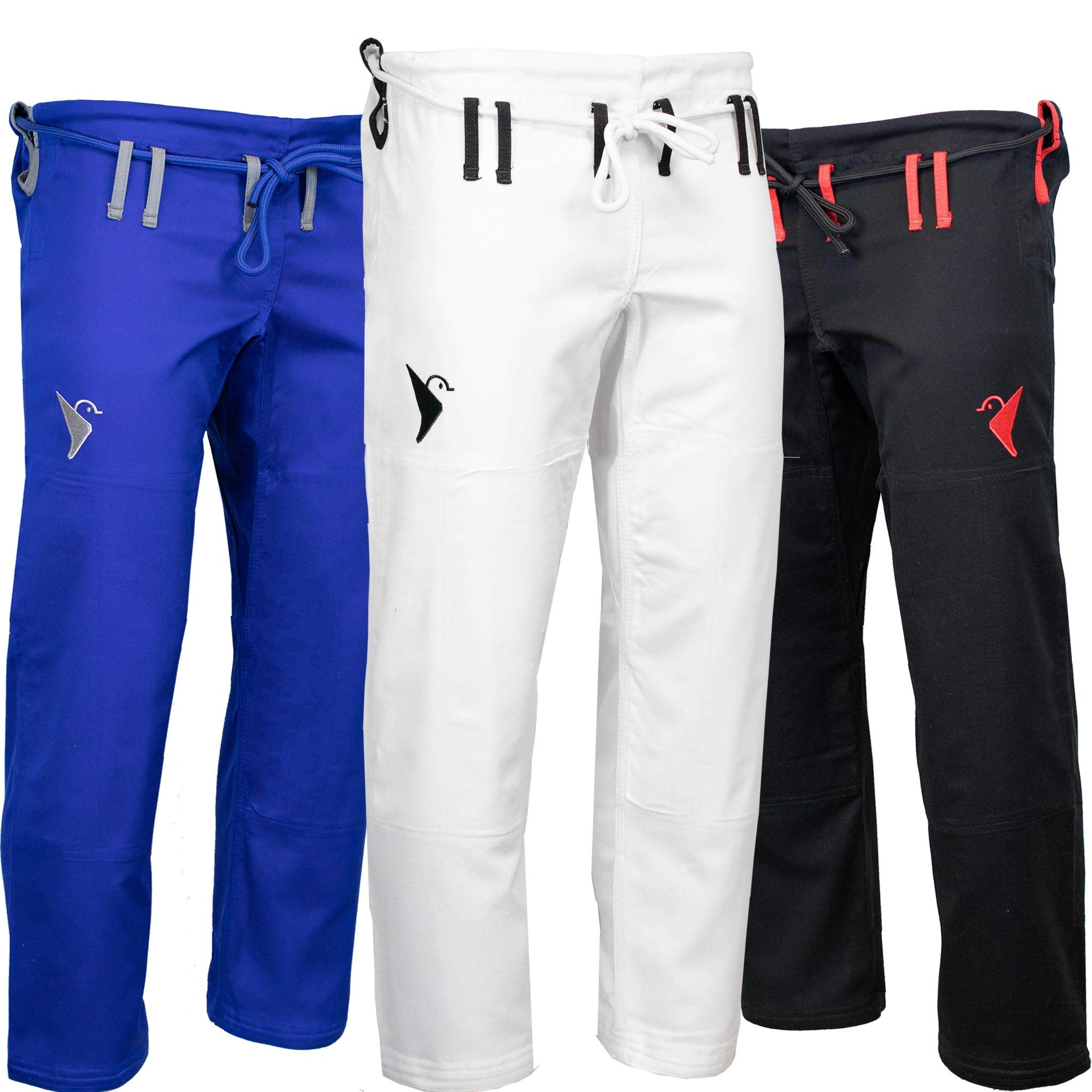 Vali Isso Gi Pants Brazilian Jiu Jitsu Gi 10oz Cotton for BJJ (Blue, A3) by Vali