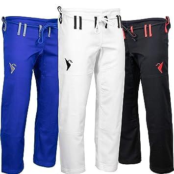 nuevo estilo 987e5 cde5b Amazon.com: Vali Isso Gi pantalones brasileños Jiu Jitsu Gi ...