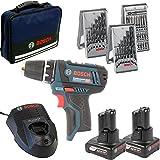 Bosch GSR 12V Lot de 15+ 2x 4,0Ah en sac, 1 pièce, 0615990HV1