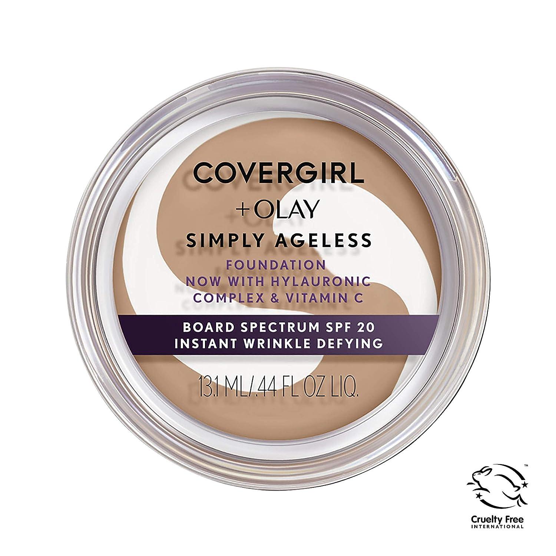 Covergirl & Olay Simply Ageless Instant Wrinkle-Defying Foundation, Medium Light