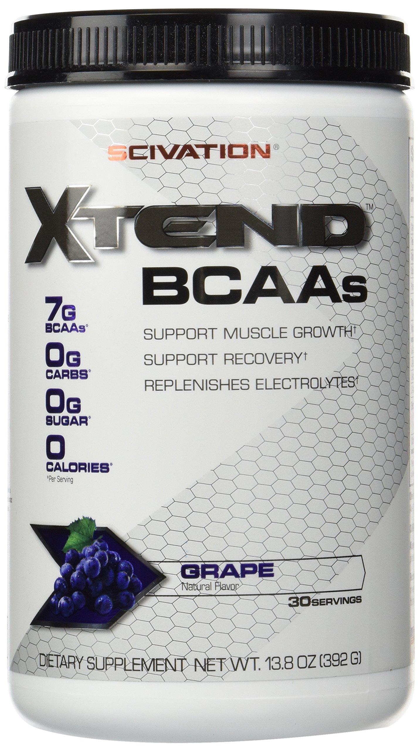 Scivation Xtend - Grape Escape, 30 Servings 13.8oz