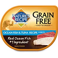 Nature's Recipe Wet Dog Food in Broth, Ocean Fish & Tuna Recipe, 2.75 Ounce Cup...