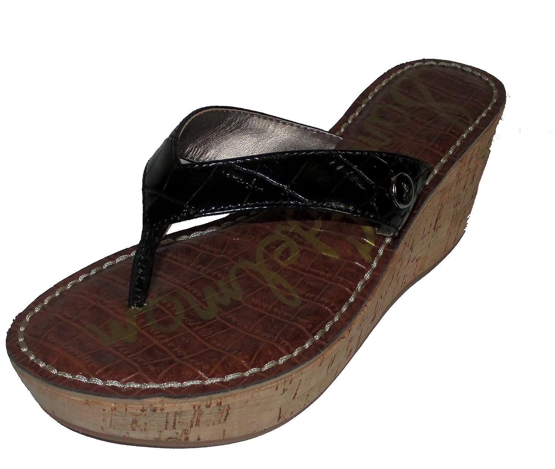 b2c77413f Sam Edelman Women s Romy Croc Wedge Sandals chic - oddlywholesome.org