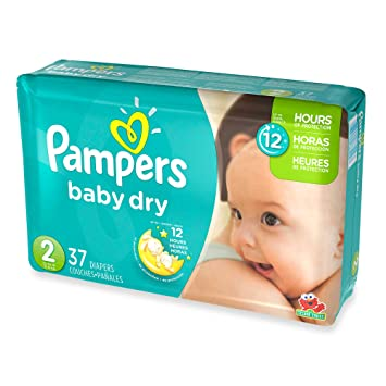 3 Layers Of Protection, Jumbo Pack Size 2 Disposable Diapers, (37-Count)