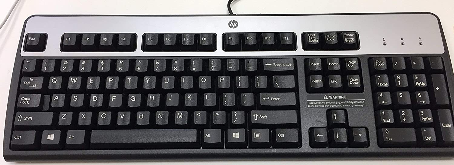 HP Standard 104 key PS/2 Keyboard