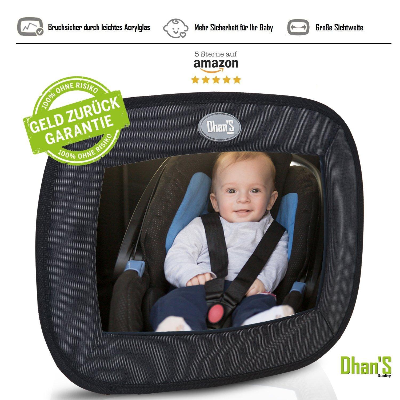 Au Rücksitzspiegel Fürs Baby Bruchsicherer Auto-rückspiegel Für Babyschale