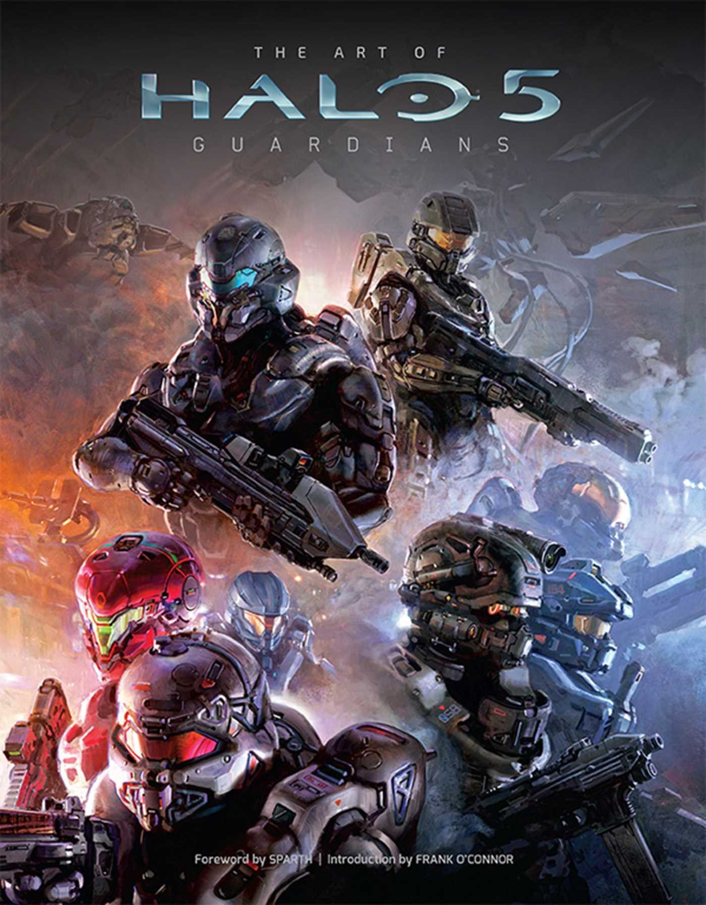 Amazoncom The Art of Halo 5 Guardians 9781608876495