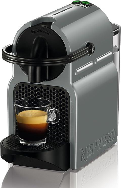 DeLonghi Inissia EN 80.GY - Cafetera (Independiente, Negro, Gris, Espresso machine, Cápsulas, Café, Café expreso, Lungo, 0,8L): Amazon.es: Hogar
