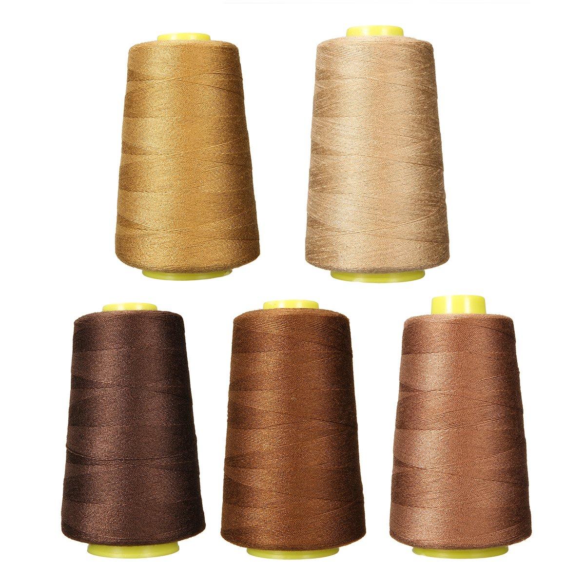 KAGEN quality sewing thread set of 10 thread//sewing machine thread 7... 800m