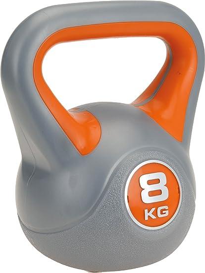 Kugelhantel Hantel  Krafttraining Kettlebell Fitness Handgewicht 8KG SPORTVIDA