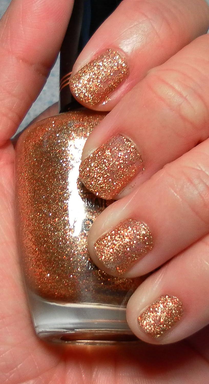 Amazon.com : Milani 1 Coat Glitters Nail Lacquer - Gold Glitz : Nail ...