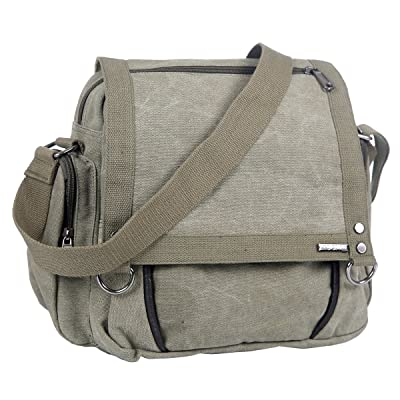 Mad Style Army Small Canvas Messenger Bag