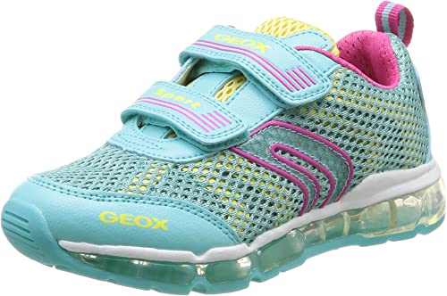 Geox J Android Girl, Sneakers per Bambine e Ragazze