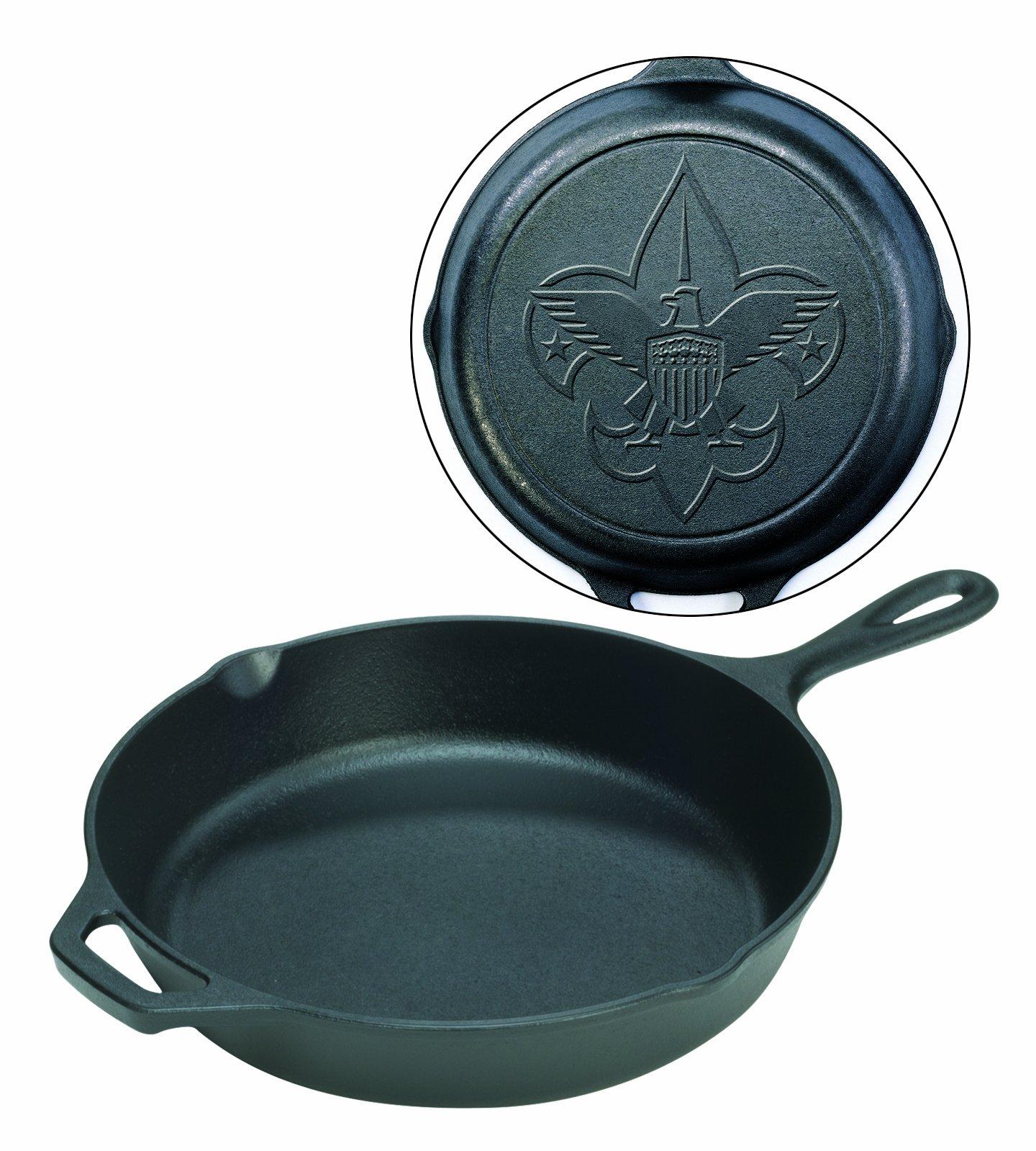 Lodge Boy Scouts of America Pre-Seasoned 12-Inch Skillet by Lodge
