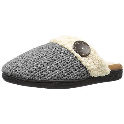 Dearfoams Women's Sweater Knit Closed Toe Scuff Slipper | Slippers