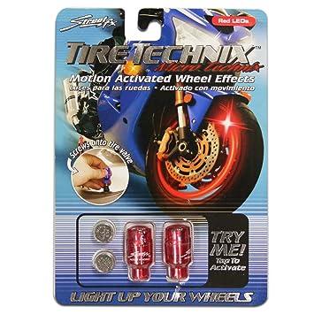 Street FX 1042193 Tire Technix Moto Micro Red Light