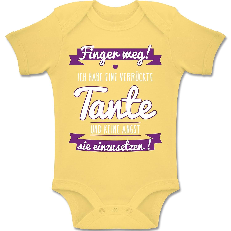 Baby Body Kurzarm Jungen Madchen Bz10 Ich Habe Eine Verruckte Tante