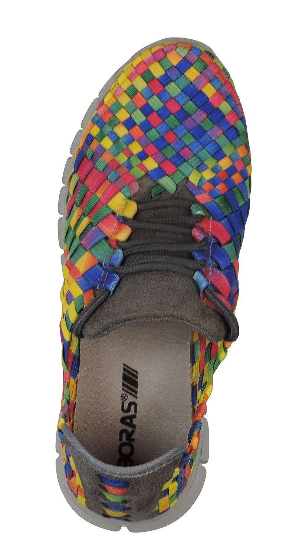 e08ecfc2ef60e6 Boras Reflex Sneaker Schuhe Sportschuhe Freizeitschuhe microsuede multi bunt  41  Amazon.de  Schuhe   Handtaschen