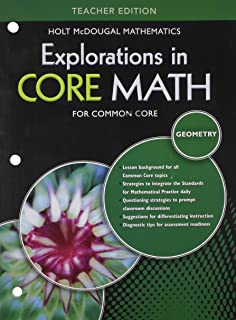 Amazon explorations in core math common core student edition explorations in core math for common core geometry teacher edition fandeluxe Choice Image