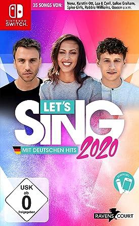 Lets Sing 2020 mit deutschen Hits [Nintendo Switch] [Importacion Alemania]: Amazon.es: Videojuegos