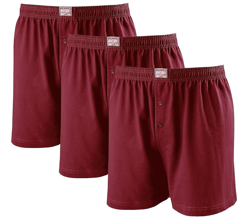 e30635fa08 Adamo James Boxer Shorts - 3 Pack - Dark Blue - Large Sizes up to 20/8XL -  Blue -: Amazon.co.uk: Clothing
