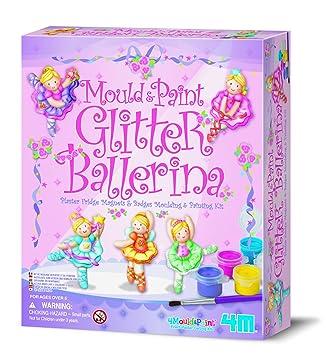 4m Mould Paint Glitter Ballerina Kalıp Boyama Amazoncomtr