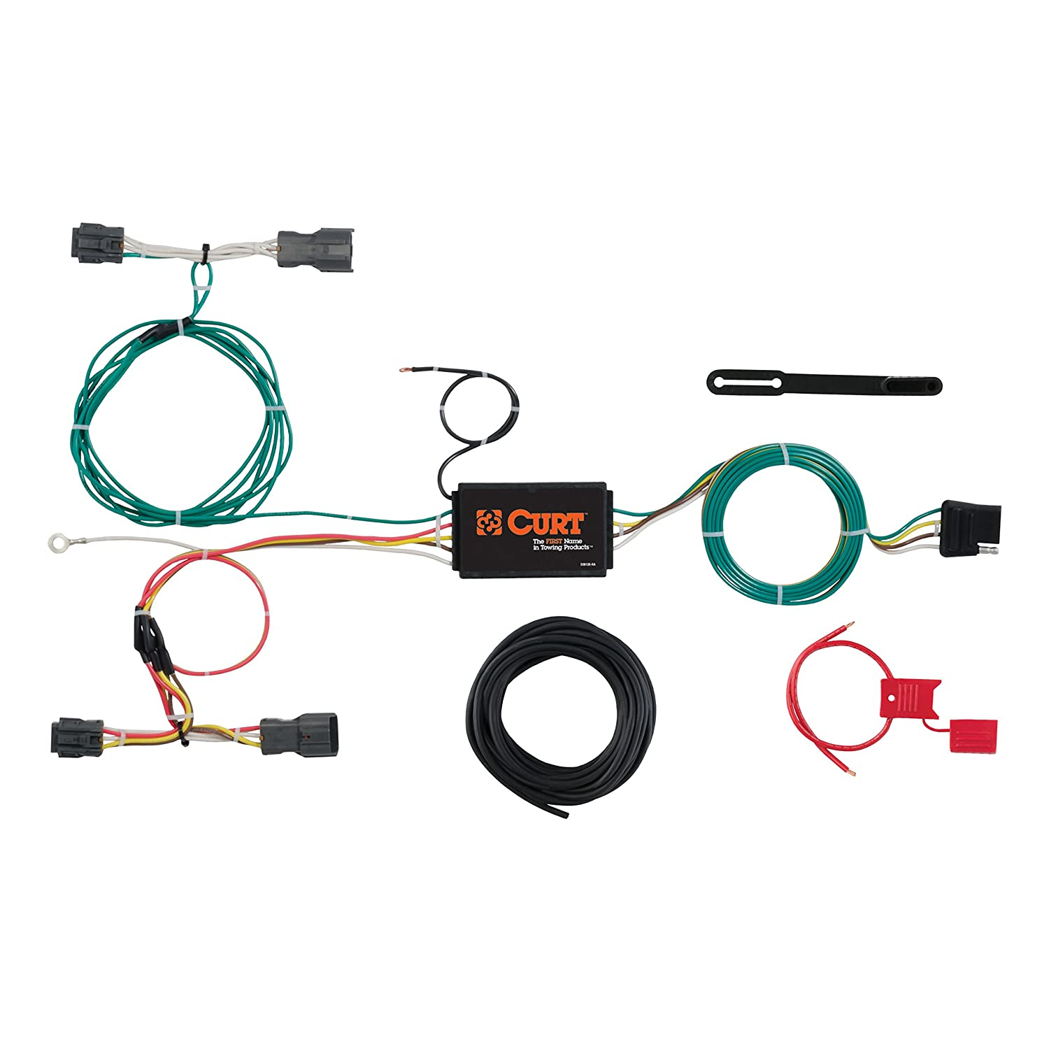 Curt Trailer Wiring Kits House Diagram Symbols Hoppy Towing Products Amazon Com 56277 Custom Harness Automotive Rh Brake
