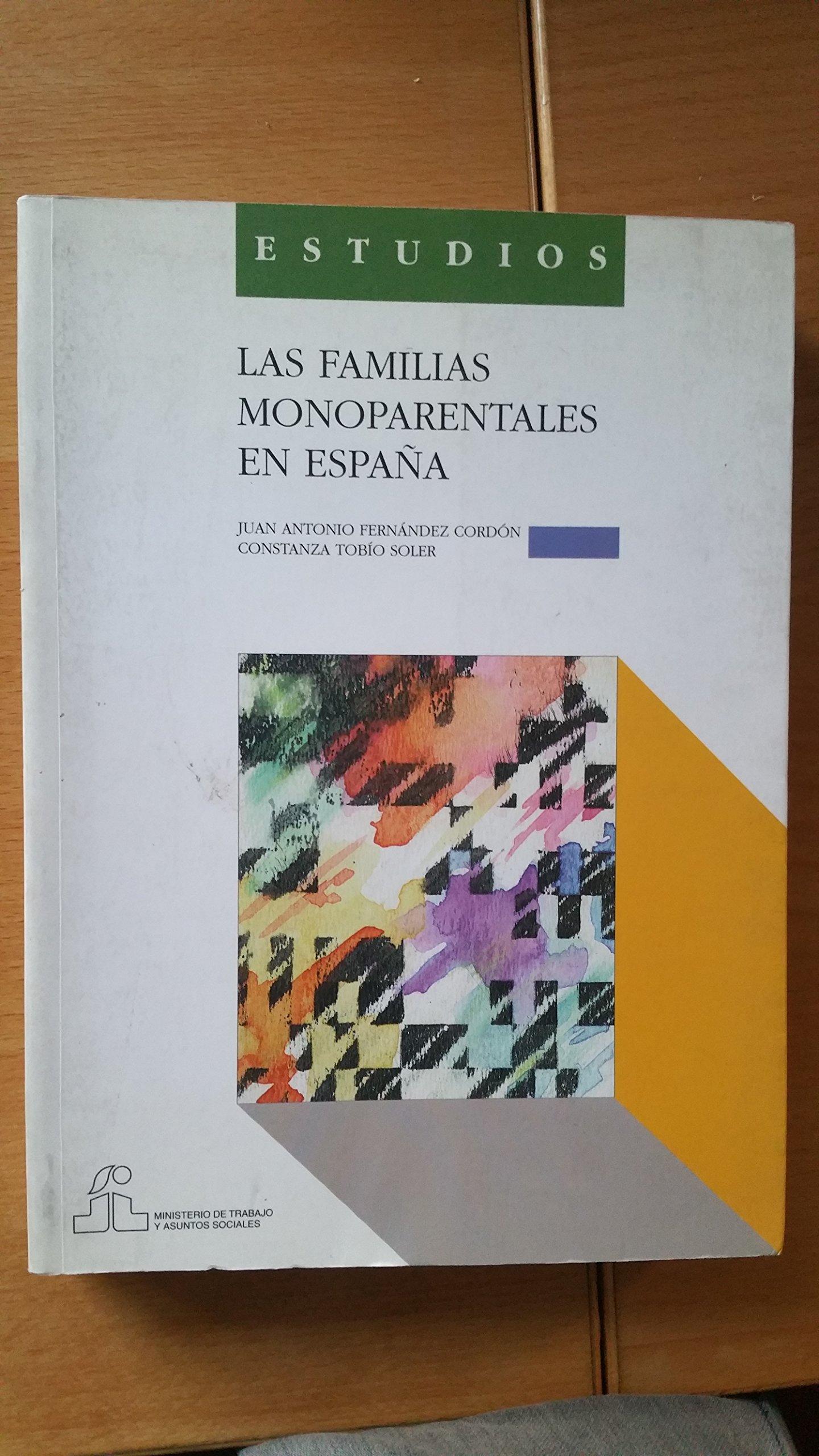 FAMILIAS MONOPARENTALES EN ESPAÑA,LAS: Amazon.es: FERNANDEZ CORDON ...