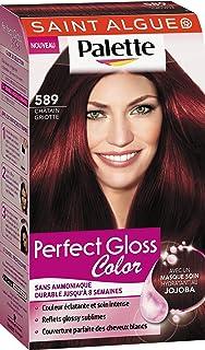 saint algue palette perfect gloss color coloration permanente 589 chtain griotte 115 ml - Coloration Saint Algue