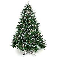 Yorbay Weihnachtsbaum Tannenbaum mit Ständer 120cm-240cm für Weihnachten-Dekoration