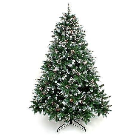 Wieso Tannenbaum Weihnachten.Yorbay Weihnachtsbaum Tannenbaum Mit Ständer 120cm 240cm Für Weihnachten Dekoration Weihnachtsbaum Mit Schnee 150cm