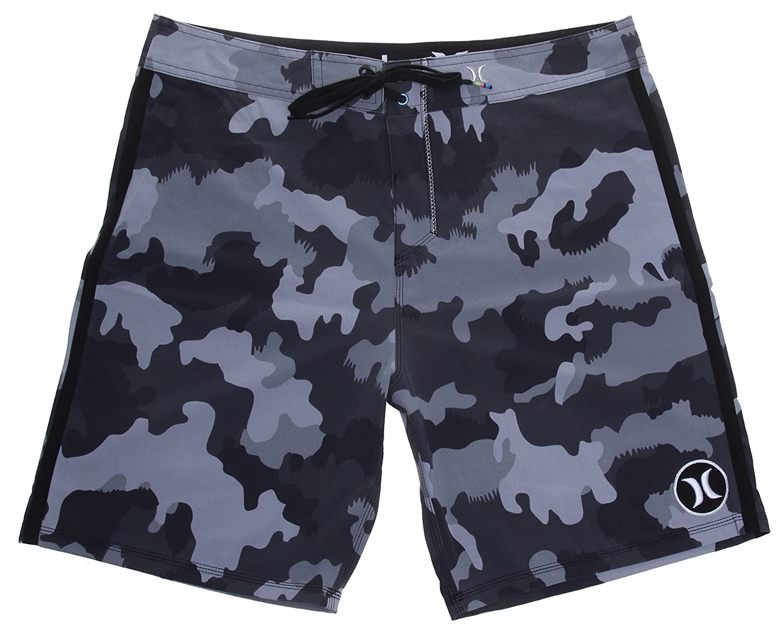 acf6758d7f Amazon.com: Hurley Phantom JJF Boardshorts - Black: Clothing