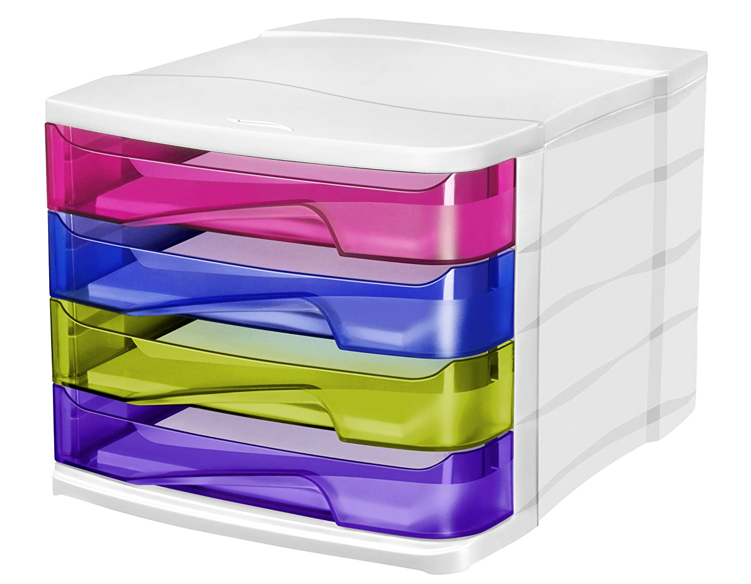 CEP Happy 4 Drawer Unit - Multicolor CEP OFFICE SOLUTIONS 315436
