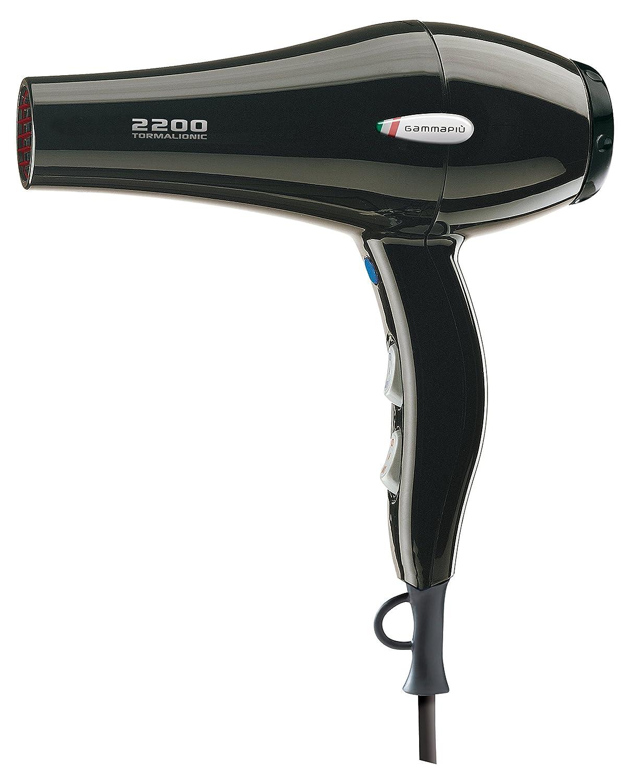 Gamma Piu Mega Cosmo 2200 - Secador de pelo, color negro: Amazon.es: Salud y cuidado personal