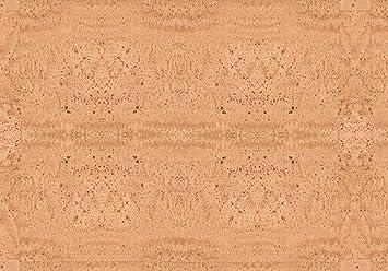 Piel vegana de corcho / Tela de corcho para hacer manualidades, monederos, etc. Alternativa vegana al cuero - 50 cm x 35 cm - Varios colores (Beige)