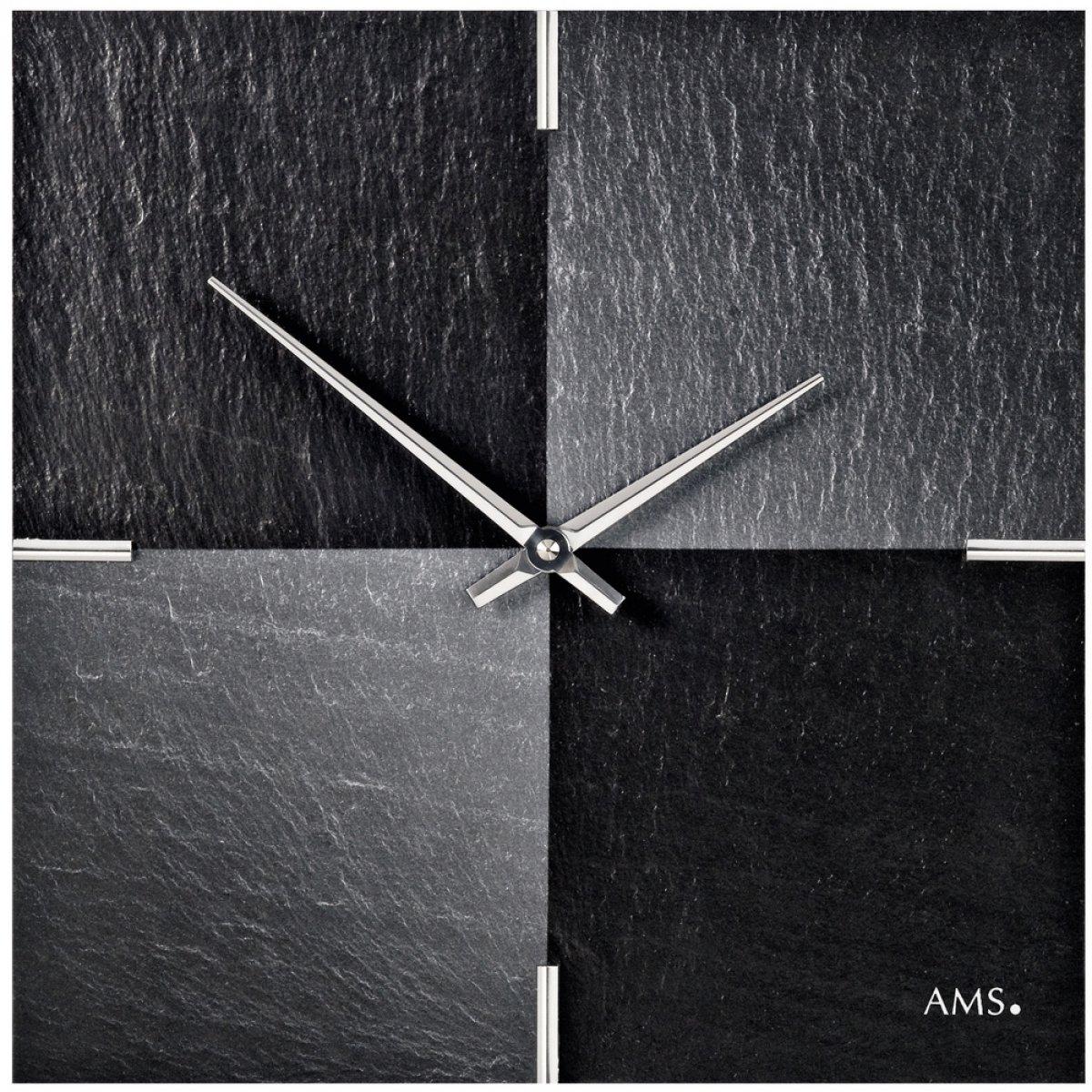 AMSからクオーツムーブメントを備えた現代的な壁時計 B01K9JQ1LS